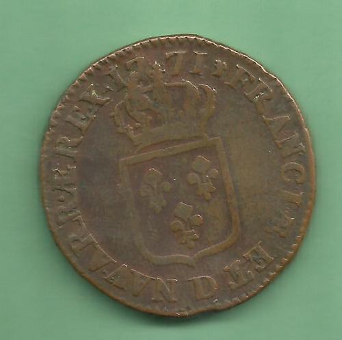 Sol 1771 D variété de légende NAVAR.AE REX. 1771_d11