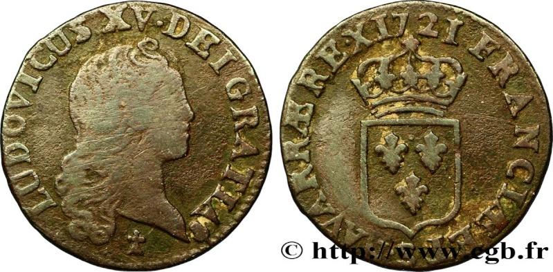 Liard 1721 S Inédit variété légende RE.X le pojnt placé entre RE et X Liard_10