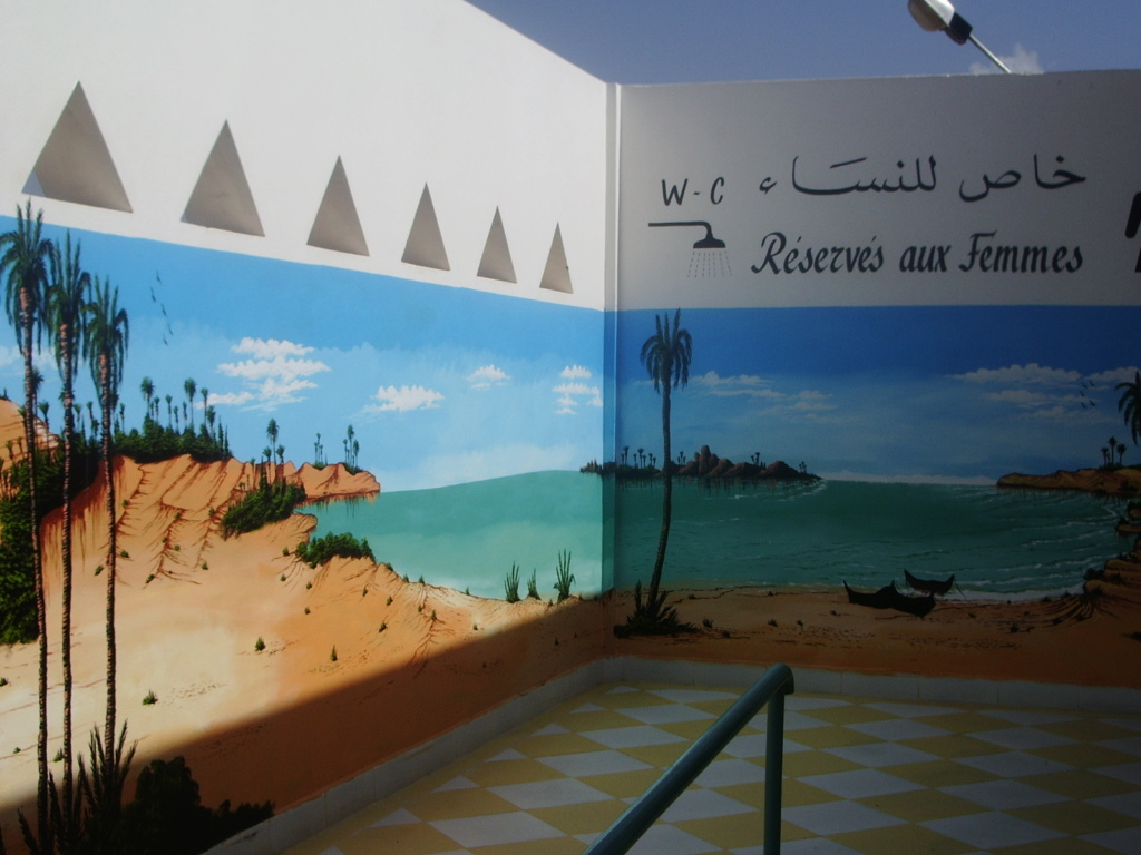 [Maroc/Commerces]  Peinture de motif sur camping car  Maroc-11