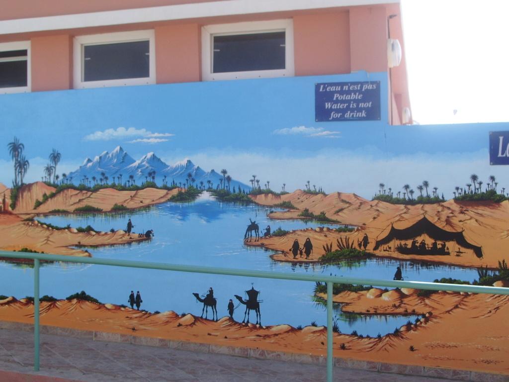 [Maroc/Commerces]  Peinture de motif sur camping car  Maroc-12