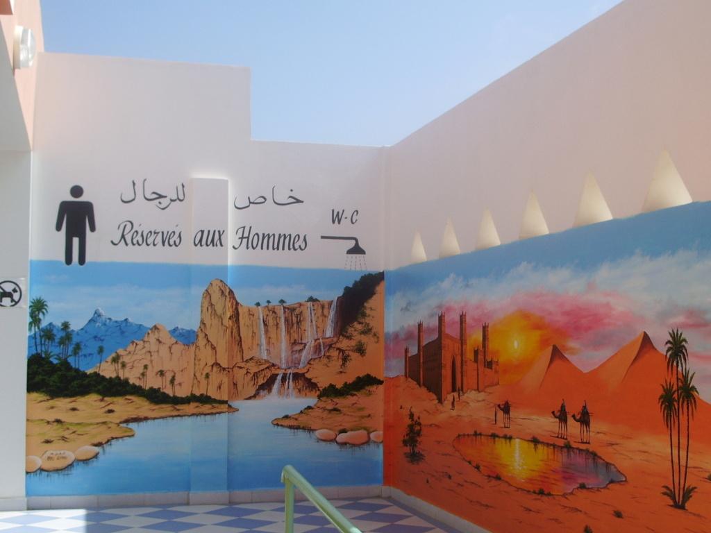 [Maroc/Commerces]  Peinture de motif sur camping car  Maroc_12