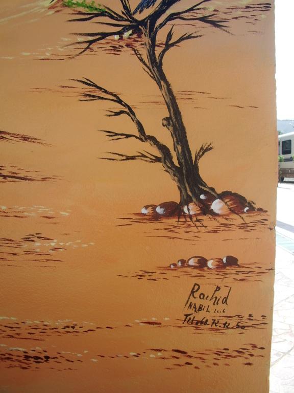 [Maroc/Commerces]  Peinture de motif sur camping car  Maroc_13