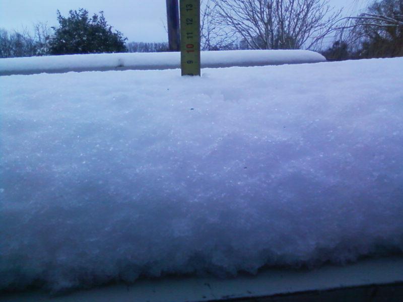 la neige est-elle arrivée chez vous ?  - Page 3 Photos19