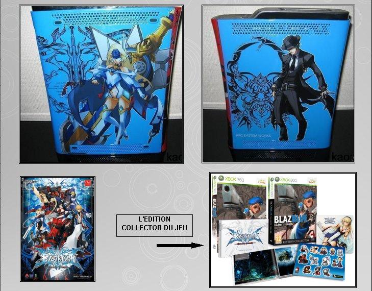 XBOX 360 : Edition BLAZBLUE Blazbl13