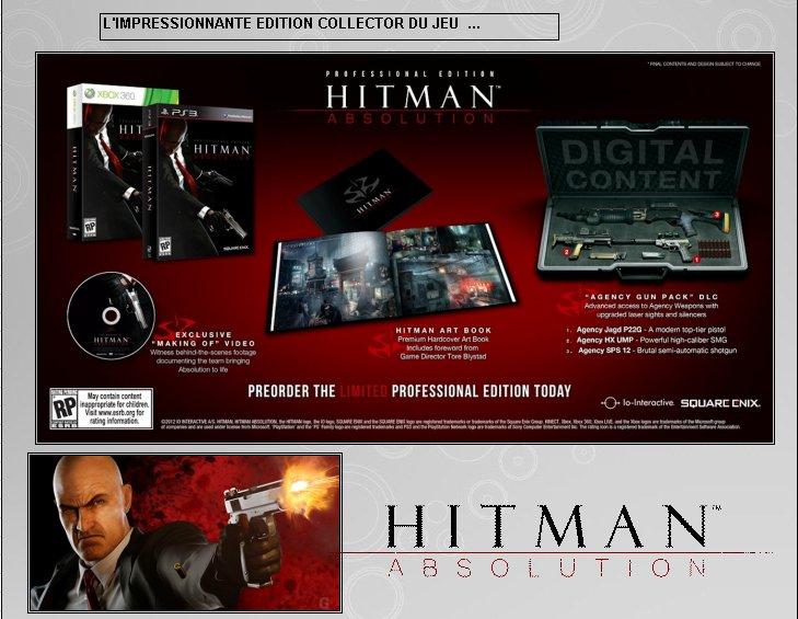 XBOX 360 : Edition HITMAN ABSOLUTION Hitman15