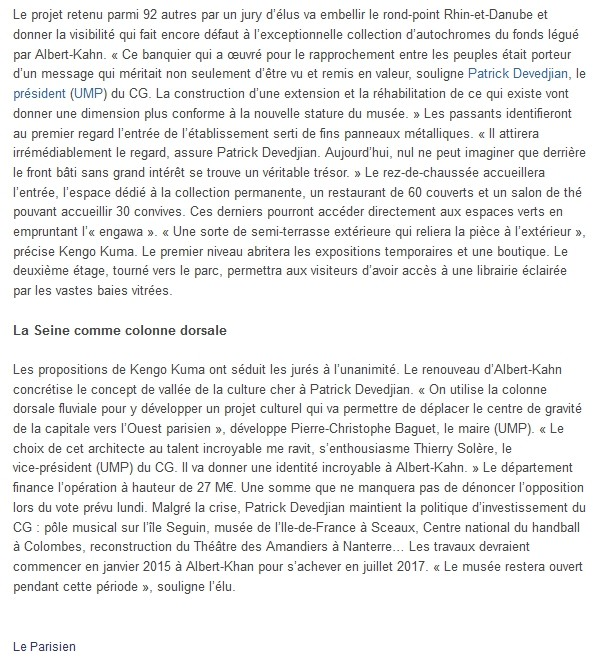 Guide de l'Office du Tourisme de Boulogne-Billancourt Clipbo54