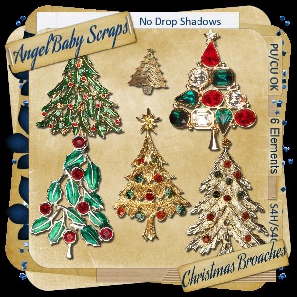 CU Christmas Broaches _previ10