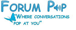 Forum Pop - Where Conversations Pop At You - Portal Forump12
