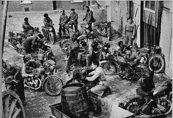 Motorcycles of WWII Befwm210