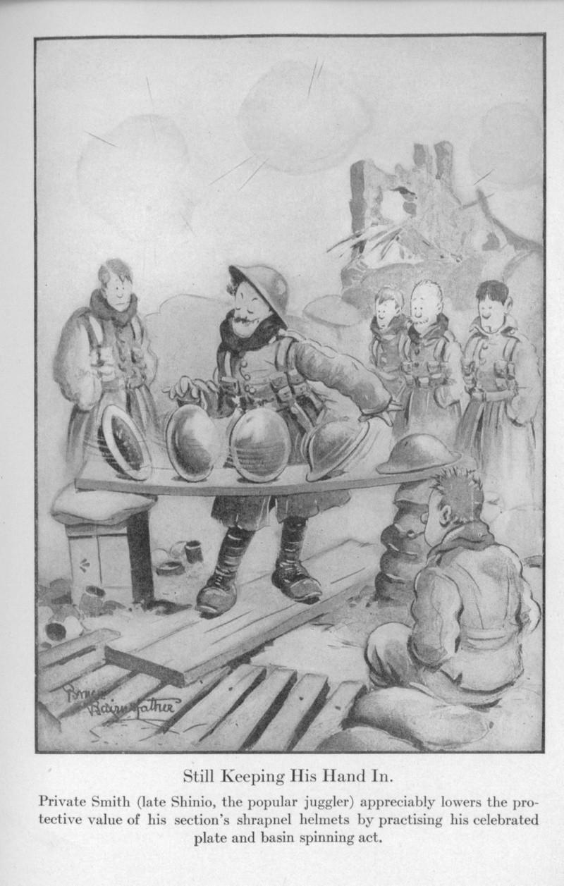 WWI Helmet Cartoons Cartoo10