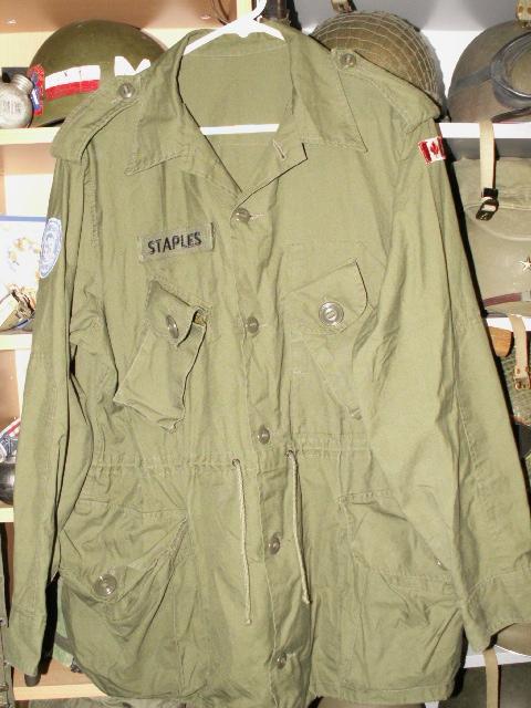UN M1 Helmet Liner and Combat Jacket Pict0073