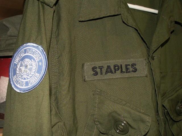 UN M1 Helmet Liner and Combat Jacket Pict0074