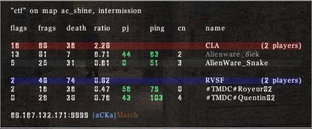 =AW= vs #TMDC# Tmdc410