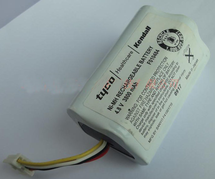 Tyco Healthcare F010484 Battery MD-BY18 A15