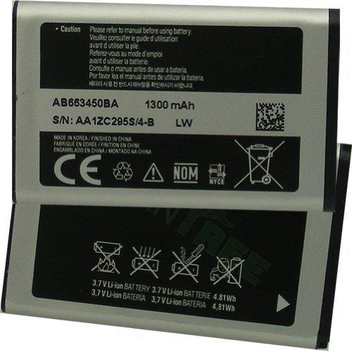 Samsung Rugby II SGH-A847 Battery AB663450BA A17