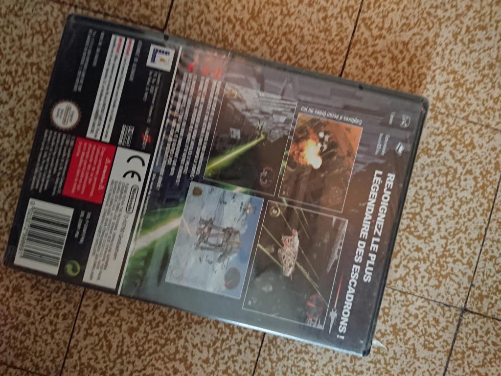 [ESTIM] Star wars rogue leader Gamecube . NEUF BLISTER UN PEU FATIGUE Dsc_5615