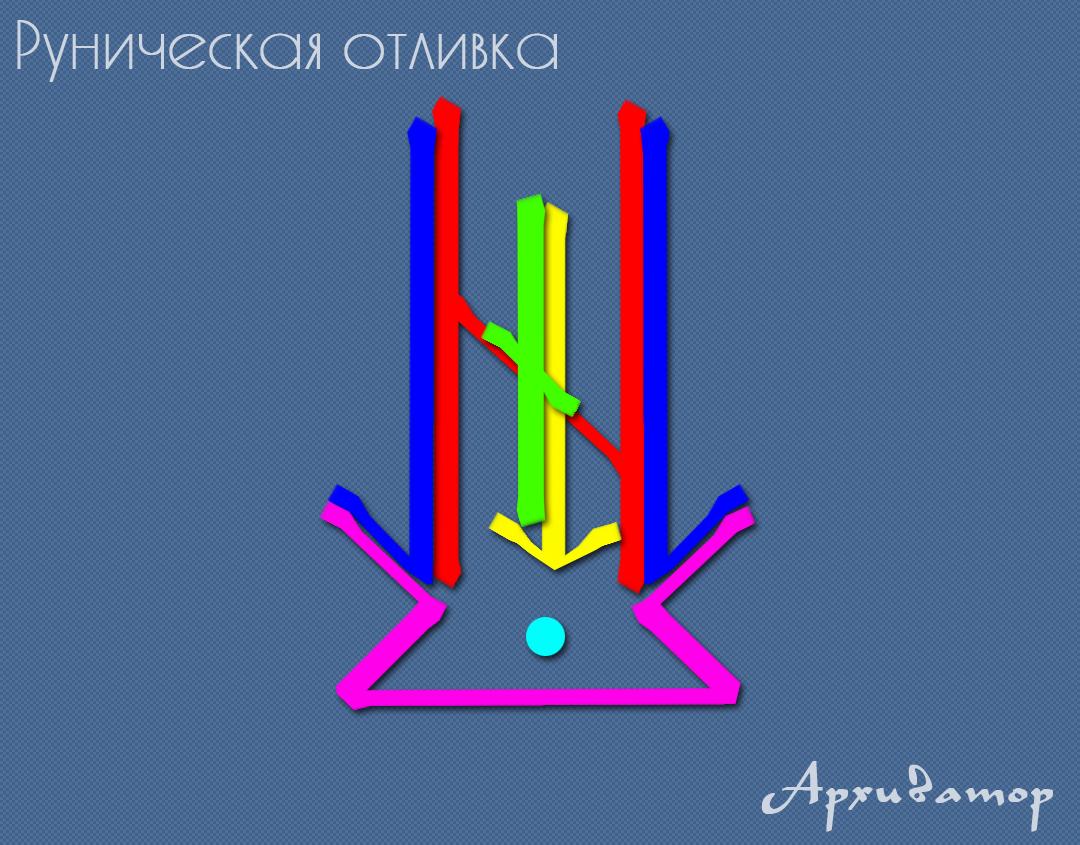 """Руническая отливка"" автор Архиватор Eaau_a11"