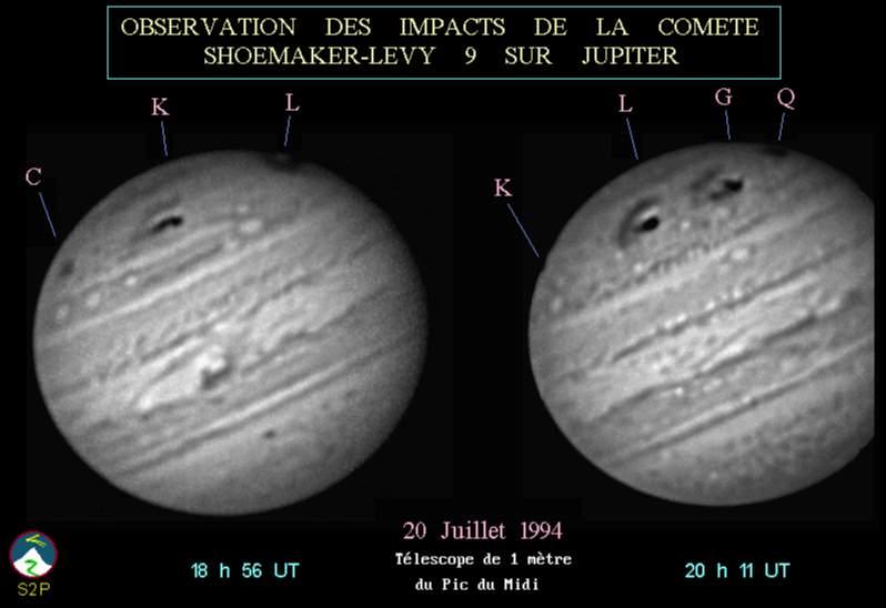 Nouvelles comètes 25010