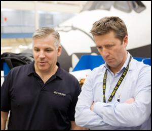 Roberto Vittori à bord de STS 134 Jsc20111