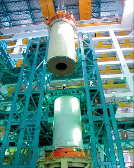 Le lanceur indien LVM 3 (ex GSLV MkIII) S200410