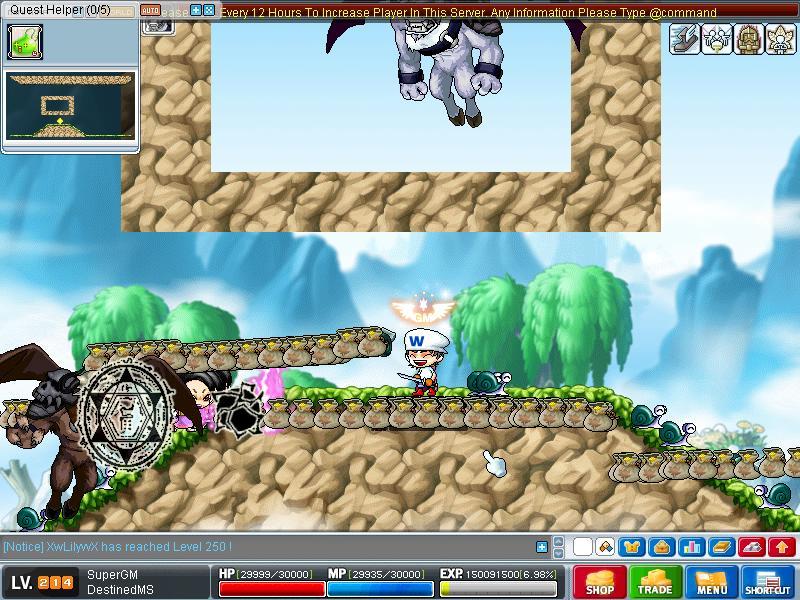 ScreenShot (Got advancement) Maple019