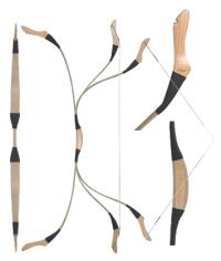 Pressing All-fiberglass crossbow limbs Mongol10