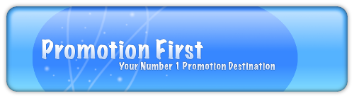 Promote your forum @ Promotion First 1promo10