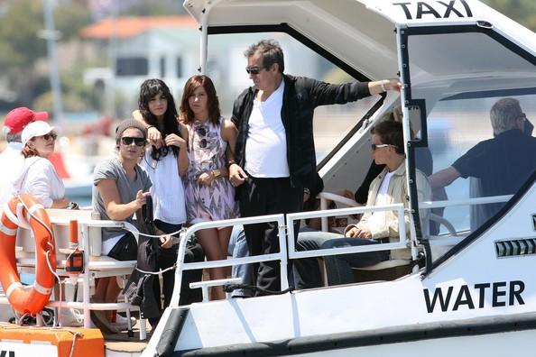 Zac, Vanessa And Ashley Enjoy A Boat Ride In Sydney 1622