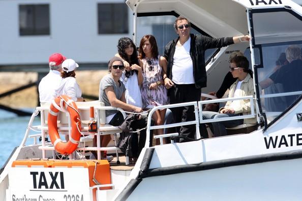 Zac, Vanessa And Ashley Enjoy A Boat Ride In Sydney 1722