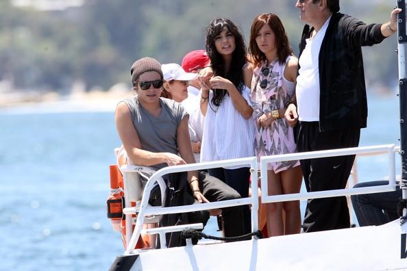 Zac, Vanessa And Ashley Enjoy A Boat Ride In Sydney 341