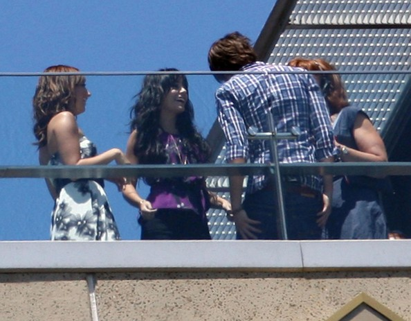 Zac, Vanessa And Ashley At The High School Musical 3 Photocall In Sydney 535