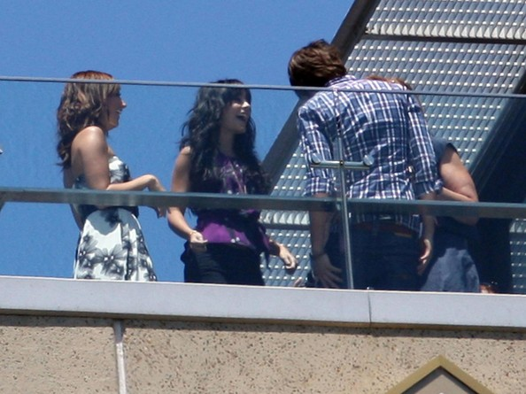 Zac, Vanessa And Ashley At The High School Musical 3 Photocall In Sydney 830
