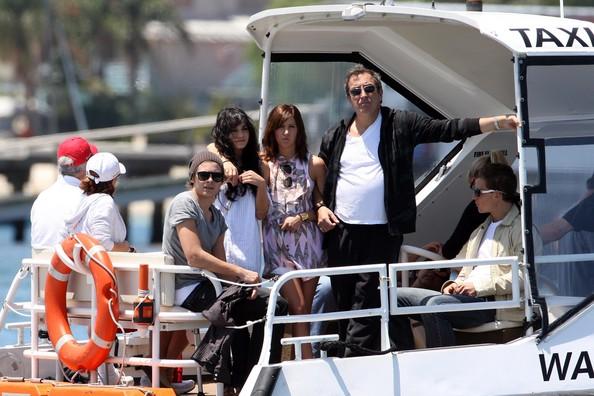 Zac, Vanessa And Ashley Enjoy A Boat Ride In Sydney 831