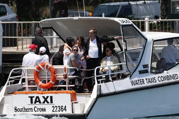 Zac, Vanessa And Ashley Enjoy A Boat Ride In Sydney 930