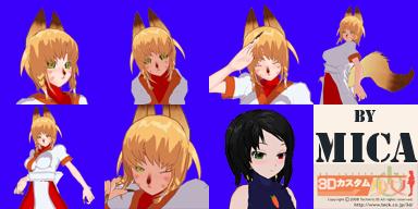 Jeune fille aux cheveux rouge (chara + faceset)  + autre personnage Face_s10
