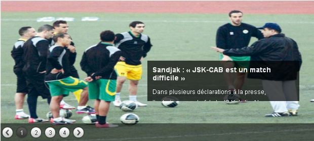 [L1, Journée 15] JS.Kabylie 1 - 0 CA.Batna (Après Match) 20121217