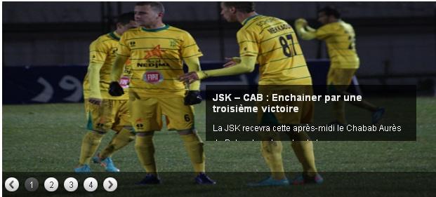 [L1, Journée 15] JS.Kabylie 1 - 0 CA.Batna (Après Match) 20121218