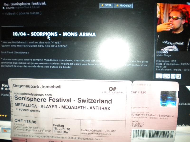 Sonisphere festival [ Suisse ] Suis10