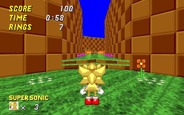 SRB2 Super Sonic Wad Srb20013