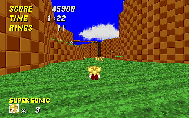 SRB2 Super Sonic Wad Srb20014