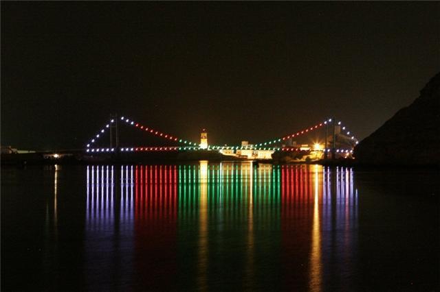 الجسر المعلق في صور العفيه 6610