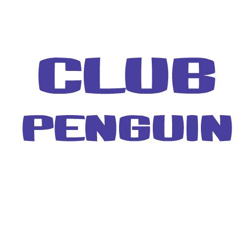 Club Penguin Logo Font Club_p10