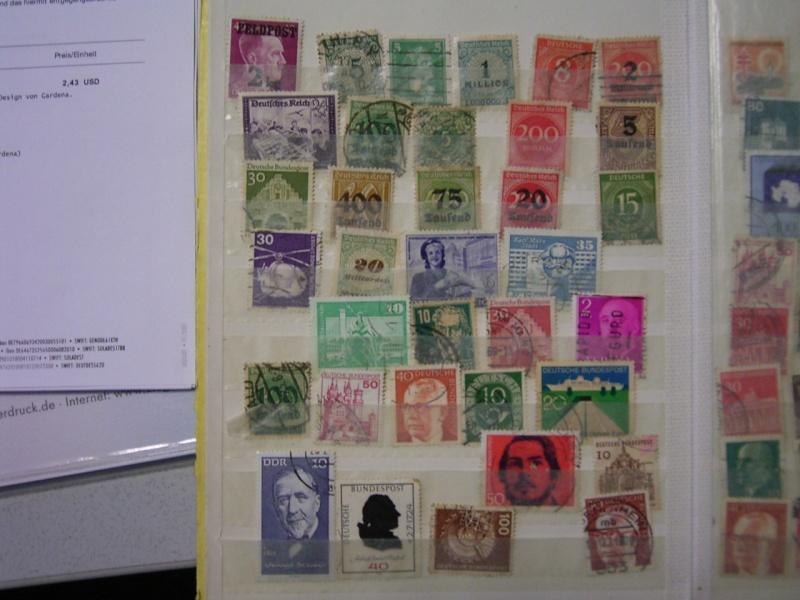 Verschiedene Briefmarken vor 20 Jahren vom Opa bekommen.... R0030811