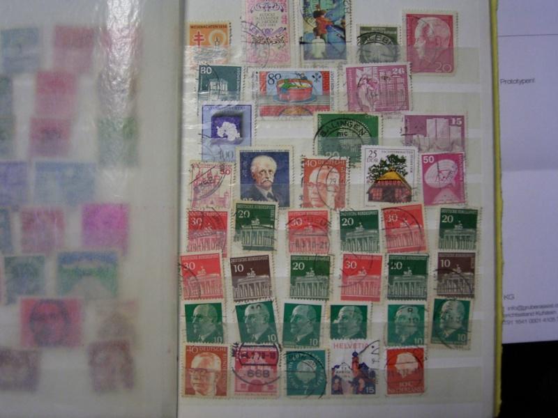 Verschiedene Briefmarken vor 20 Jahren vom Opa bekommen.... R0030812