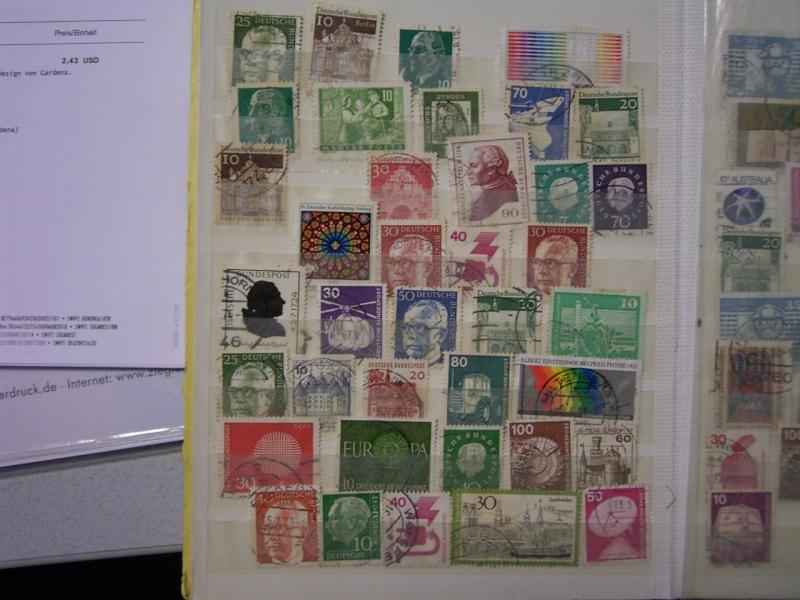 Verschiedene Briefmarken vor 20 Jahren vom Opa bekommen.... R0030813