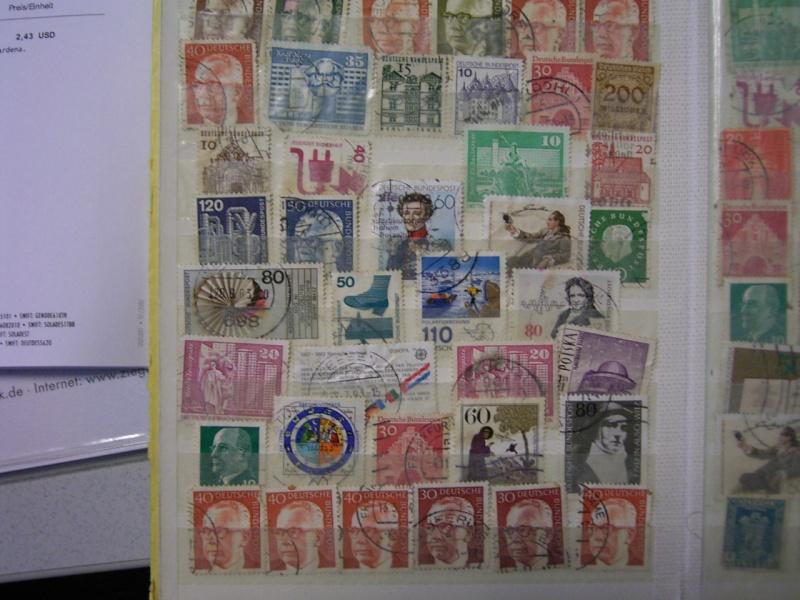 Verschiedene Briefmarken vor 20 Jahren vom Opa bekommen.... R0030815