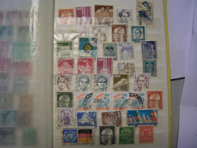 Verschiedene Briefmarken vor 20 Jahren vom Opa bekommen.... R0030818