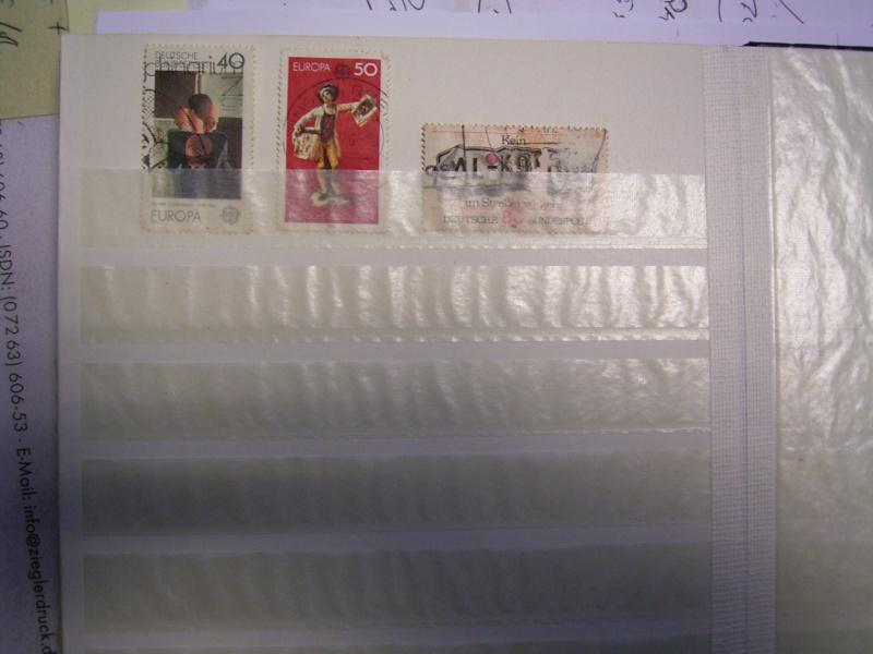 Verschiedene Briefmarken vor 20 Jahren vom Opa bekommen.... R0030819