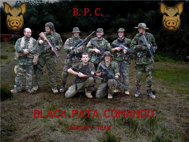BLACK PATA COMANDO