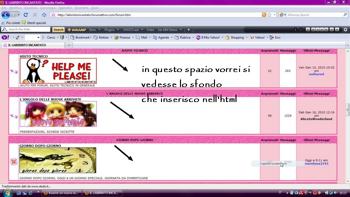 immagine sfondo tabella forum Dfffff10